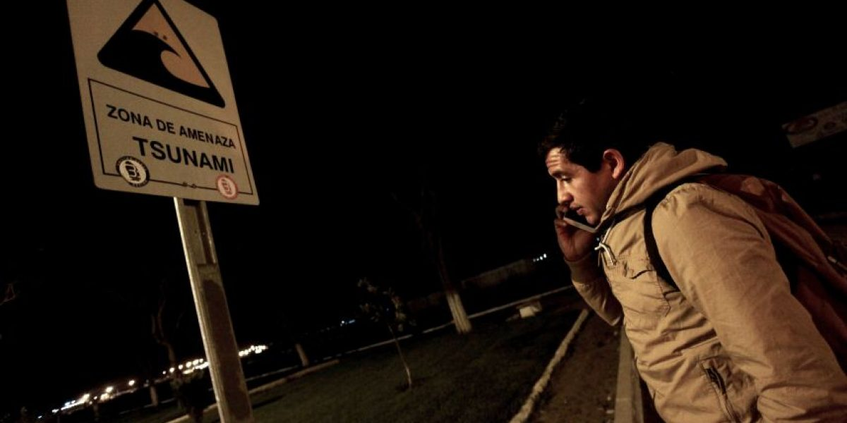 Videos: así los chilenos registraron el terremoto que azotó al país