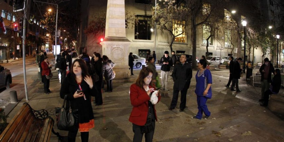 Terremoto en Chile se sintió con fuerza en Mendoza y Buenos Aires