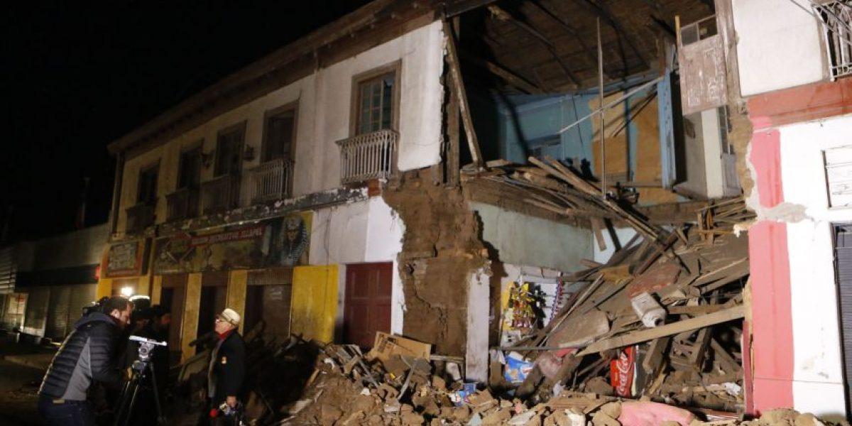 Primeras imágenes de la destrucción en Illapel por terremoto 8.4