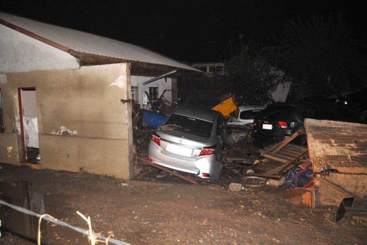 Los efectos del terremoto 2015 en Coquimbo. Foto:Aton. Imagen Por: