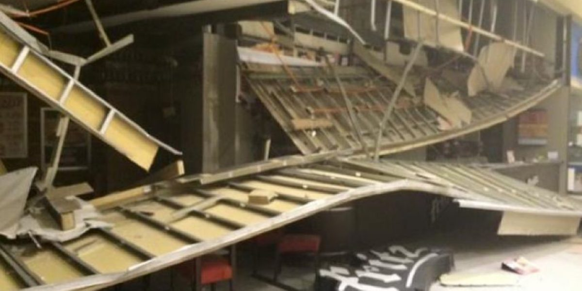 Un desastre: así quedó el Mall de La Serena tras el terremoto