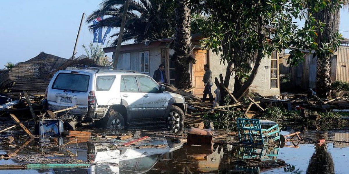 Nuevo balance de la Onemi: 11 muertos y 610 damnificados deja terremoto en Chile