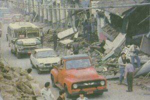 Los efectos del terremoto de 1985. Foto:Reproducción. Imagen Por: