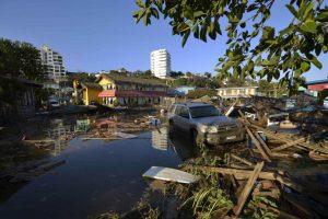 El sismo de magnitud 8.3 duró tres minutos. Foto:AP. Imagen Por: