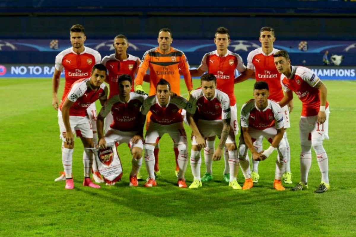 3. Arsenal Foto:Getty Images. Imagen Por: