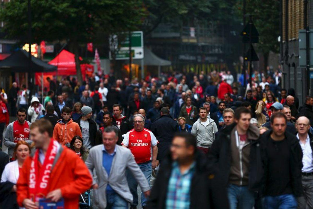 """Los """"Gunners"""" de Inglaterra suman 225 mil socios Foto:Getty Images. Imagen Por:"""