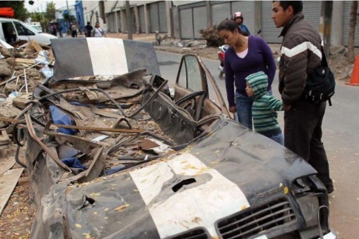 8. 27 de febrero de 2010, Bio-Bio, Chile: El sismo cuya magnitud fue de 8.8 cobró la vida de 521 personas. Foto:Getty Images. Imagen Por: