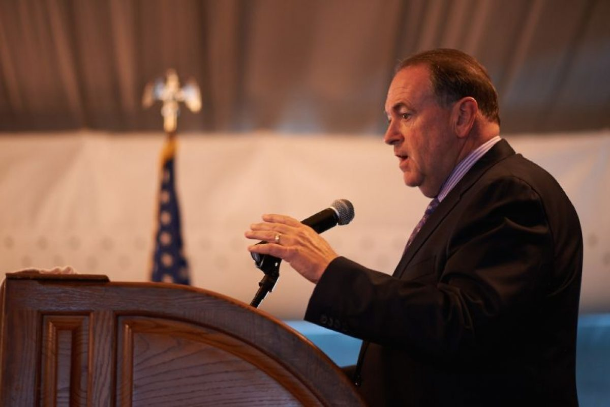 Mike Huckabee, exgobernador de Arkansas Foto: Getty Images. Imagen Por: