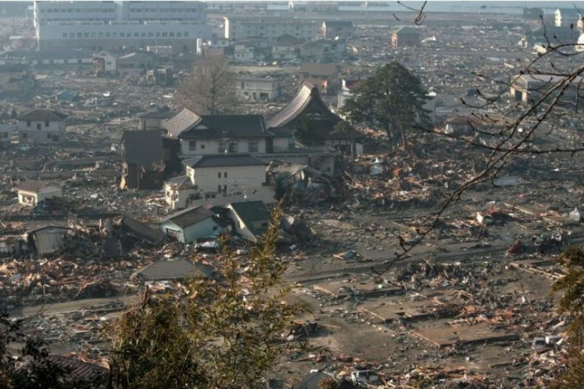 Ocurrió a las 14:46 hora local Foto:Getty Images. Imagen Por:
