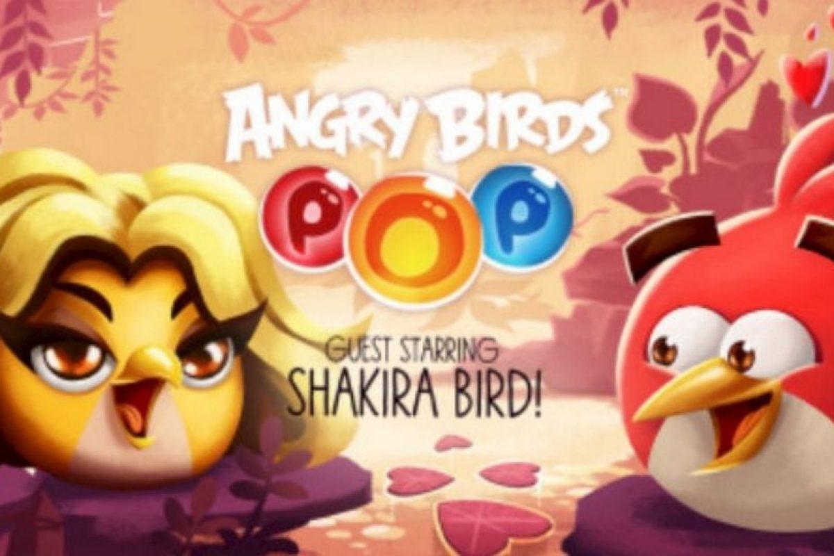 """Shakira ahora es un personaje de """"Angry Birds"""". Foto:Rovio. Imagen Por:"""