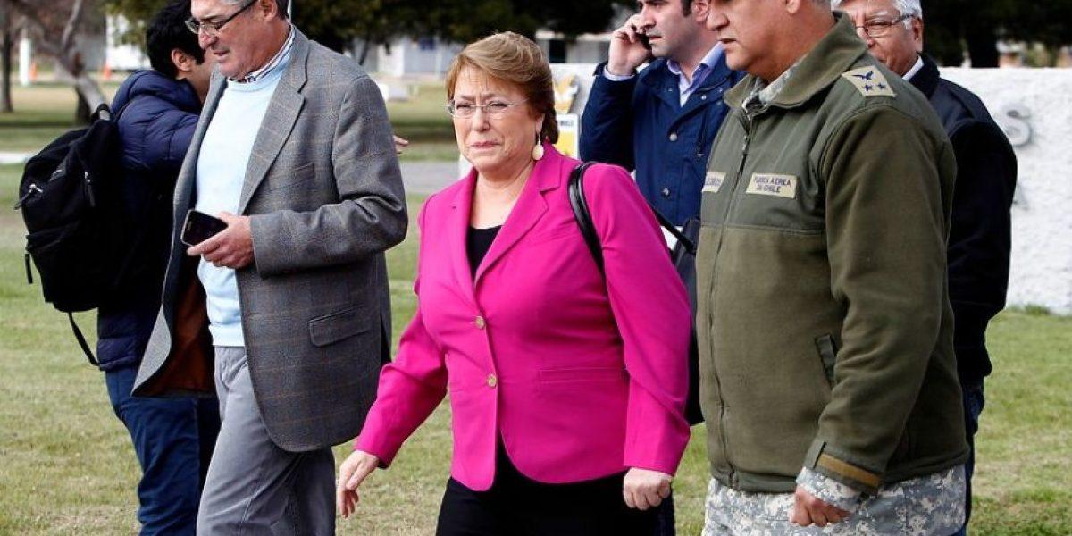 Bachelet compromete mayor seguridad para evitar saqueos