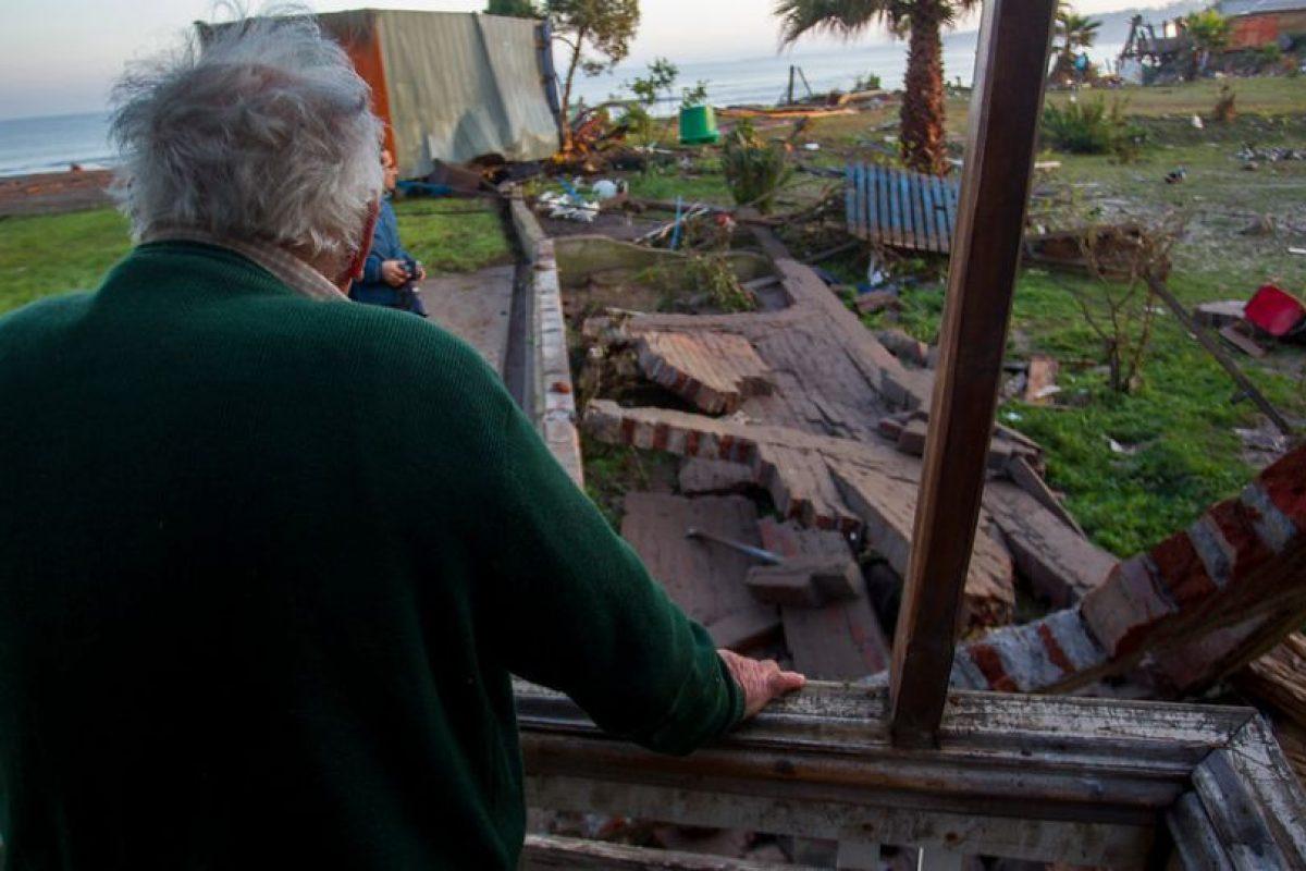 Efectos del Tsunami en Concón Foto:Aton Chile. Imagen Por: