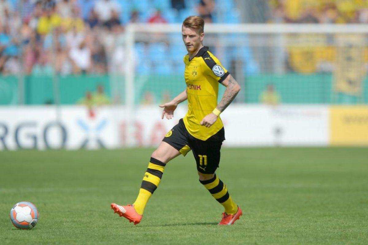 El alemán del Borussia Dortmund es el último que ingresó al top-ten de cobradores de faltas Foto:Getty Images. Imagen Por: