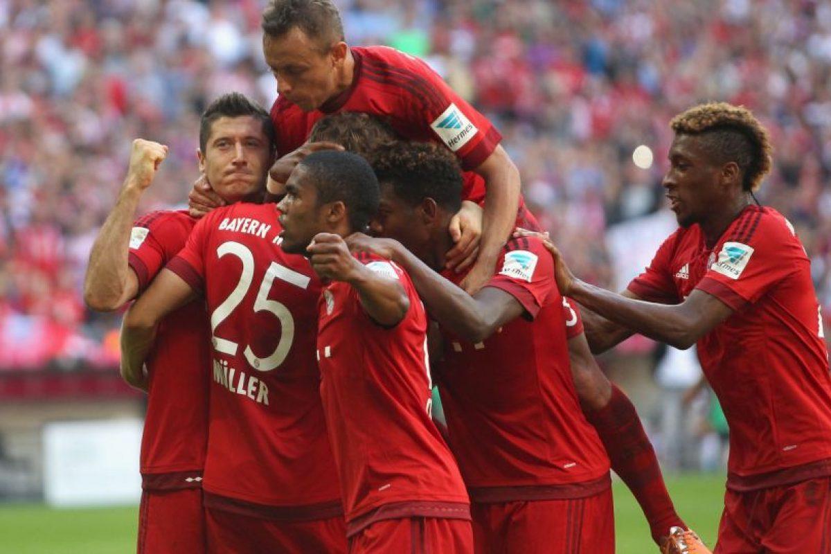 2. Bayern Múnich Foto:Getty Images. Imagen Por: