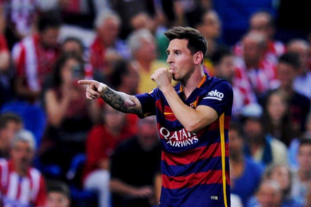 """La """"Pulga"""" es el quinto mejor tirador del FIFA 16 Foto:Getty Images. Imagen Por:"""