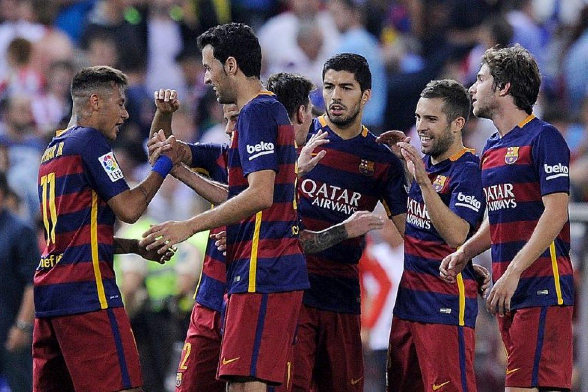 4. Barcelona Foto:Getty Images. Imagen Por: