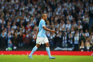 Fue sustituido en el partido entre su equipo, Manchester City, y Juventus por una molestia en la pantorrilla Foto:Getty Images. Imagen Por: