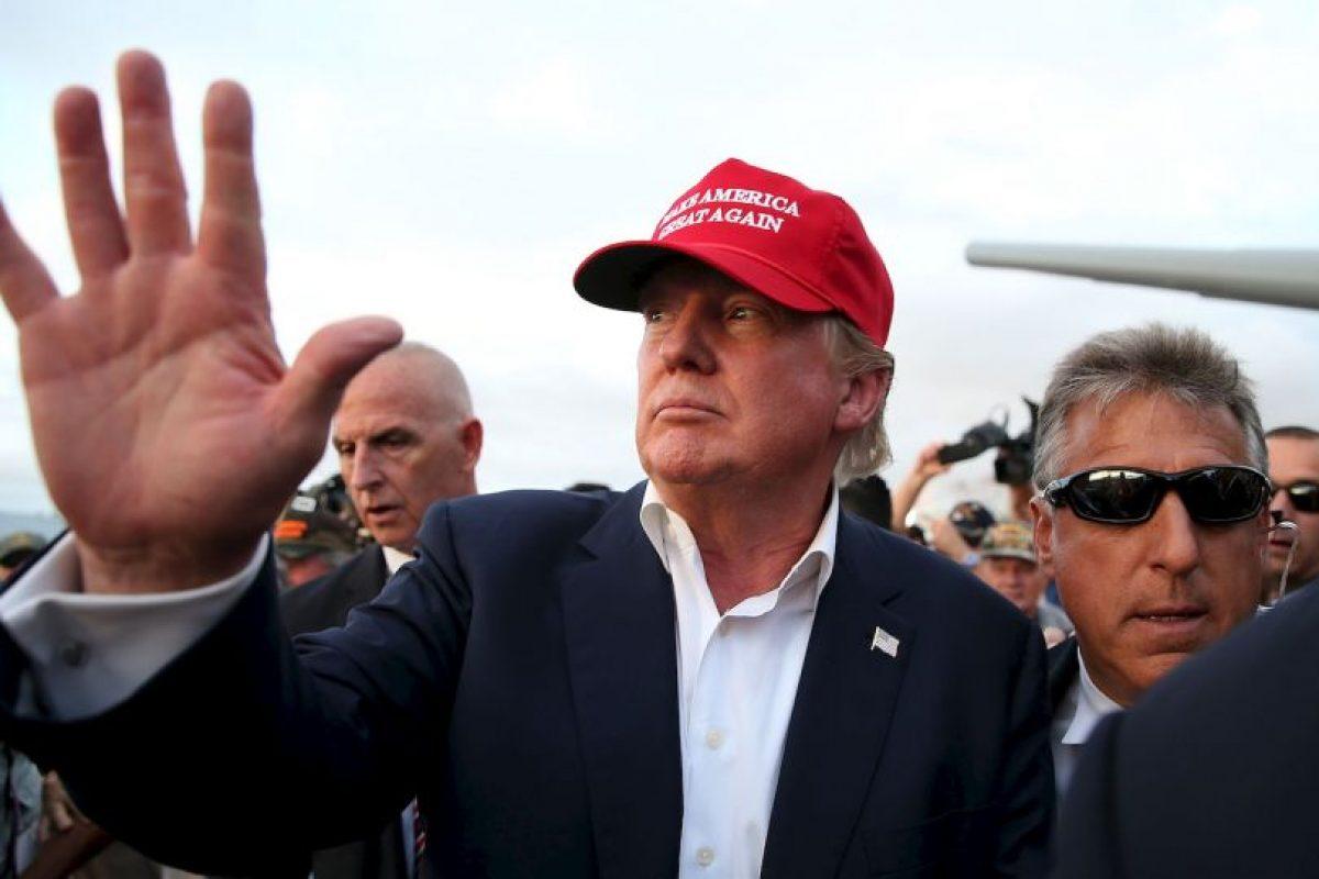 Donald Trump, empresario y primer lugar en las encuestas Foto:Getty Images. Imagen Por: