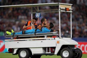 El brasileño del Barcelona se despide de la temporada por una rotura del ligamento cruzado anterior de la rodilla derecha Foto:Getty Images. Imagen Por: