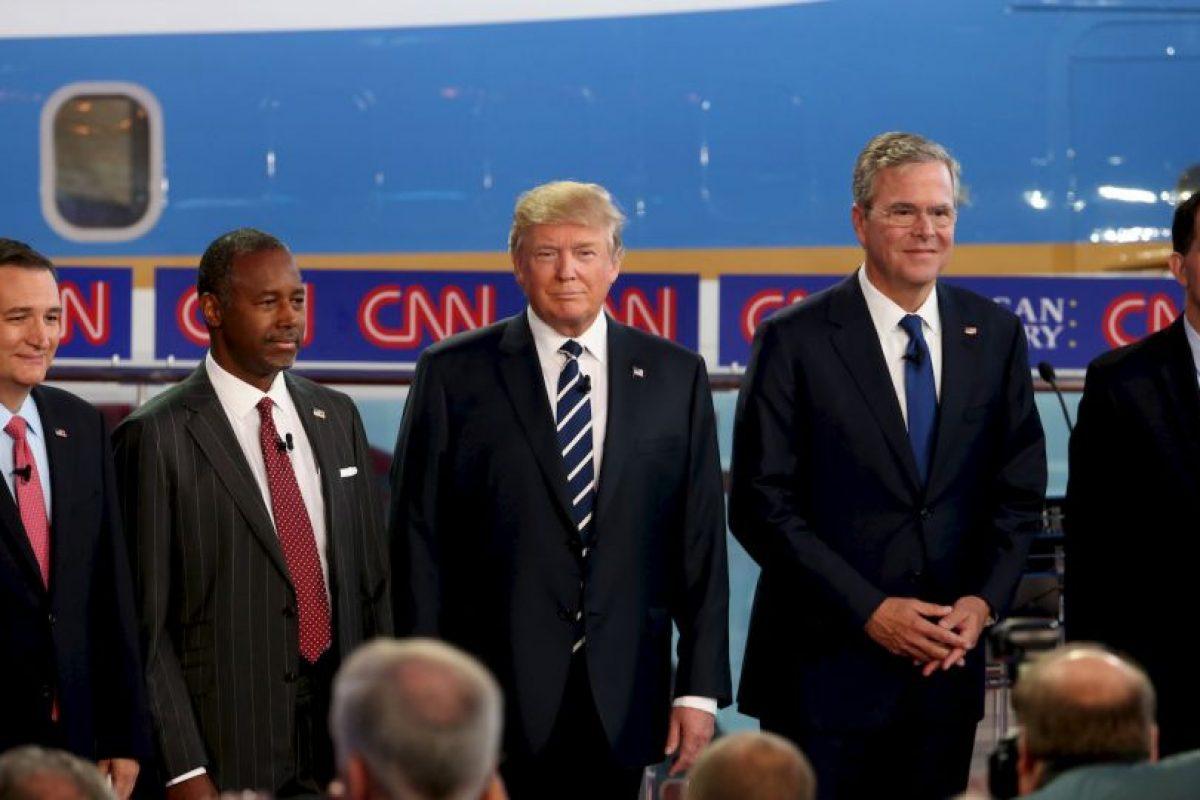 """""""La administración de tu hermano es responsable de que tengamos a Barack Obama de presidente"""", dijo a Jeb Bush Foto:Getty Images. Imagen Por:"""