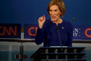 1. Es la única mujer entre los 15 precandidatos del Partido Republicano. Foto:Getty Images. Imagen Por: