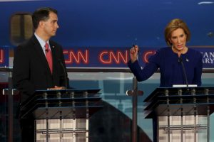 Fue organizado por la cadena CNN. Foto:Getty Images. Imagen Por: