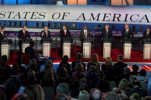 En el debate previo al evento estelar se midieron: Rick Santorum, Bobby Jindal, George Pataki y Lindsey Graham. Foto:Getty Images. Imagen Por: