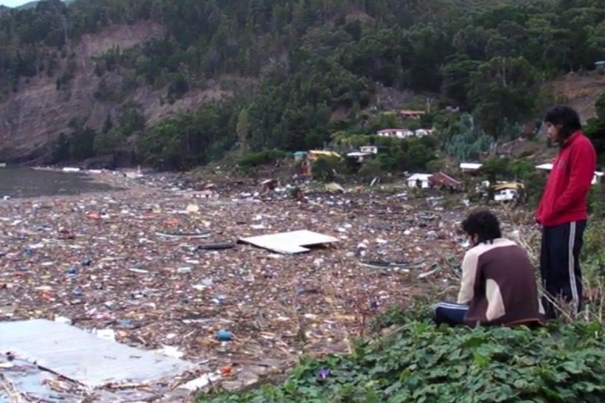 Los efectos del terremoto del 2010. Foto:Reproducción. Imagen Por: