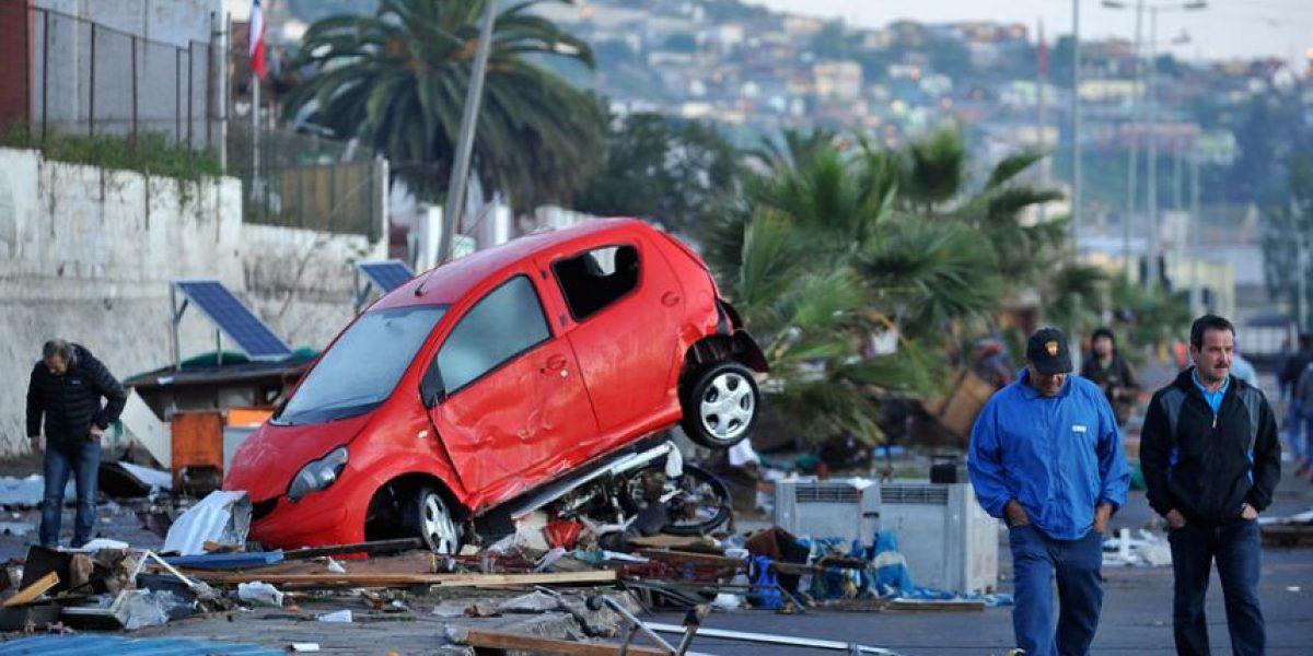 Fotos: así quedaron las costas chilenas más afectadas por tsunami