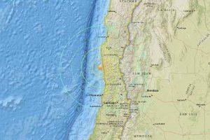 Hay alerta de tsunami en toda la costa de Chile. Foto:vía AFP. Imagen Por:
