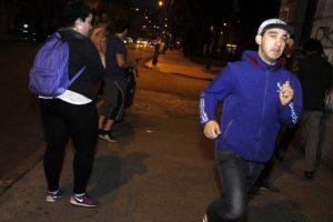 Así se evacuó en Valparaíso. Foto:vía Agencia Uno/Publimetro Chile. Imagen Por: