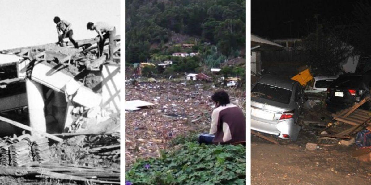 Los principales terremotos que Chile ha soportado desde 1960