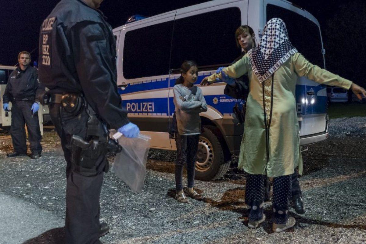 Refugiada es detenida junto con su hija en Alemania. Foto:AFP. Imagen Por: