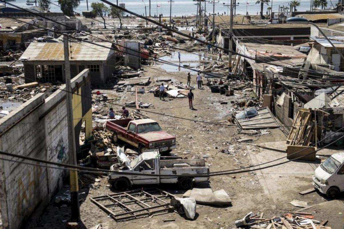 Tras el terremoto más de un millón de personas fueron evacuadas y 12 personas fallecieron. Foto:AFP. Imagen Por: