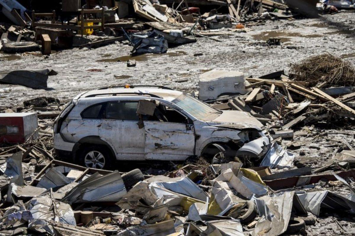 """""""Agradezco, a nombre del Gobierno, a quienes ayudaron en las tareas de rescate"""", señaló el ministro del Interior Foto:AFP. Imagen Por:"""