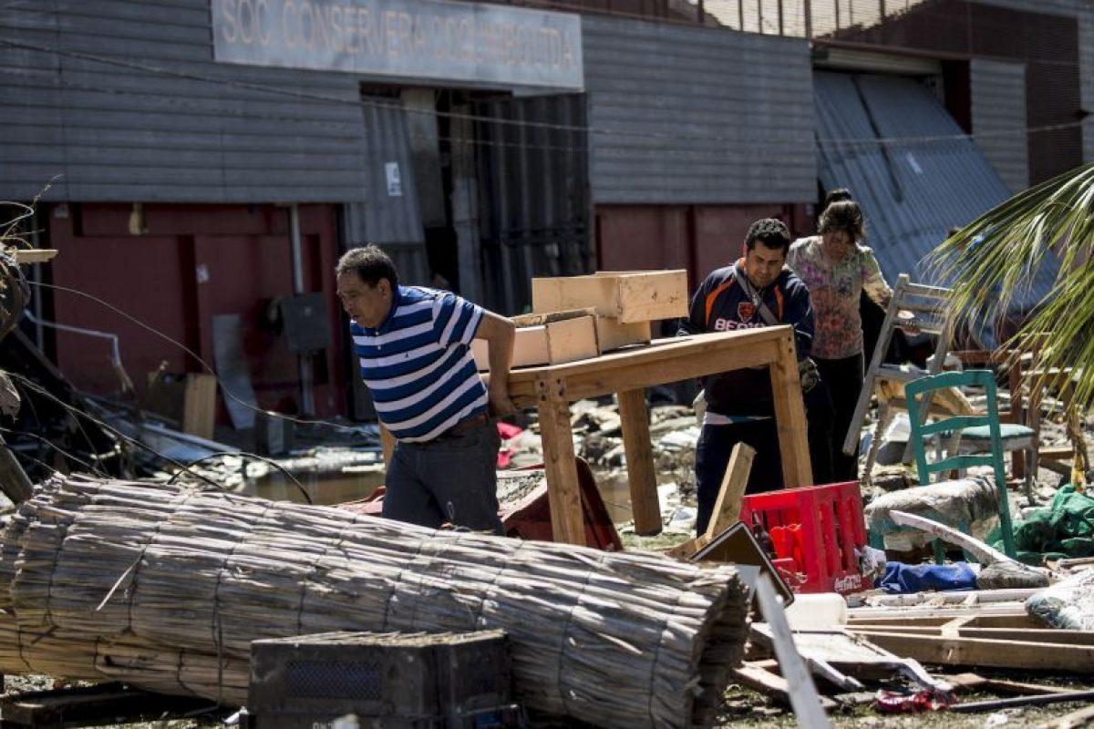 Y en Twitter, el hashtag #FuerzaChile se convirtió en uno de los más comentados Foto:AFP. Imagen Por: