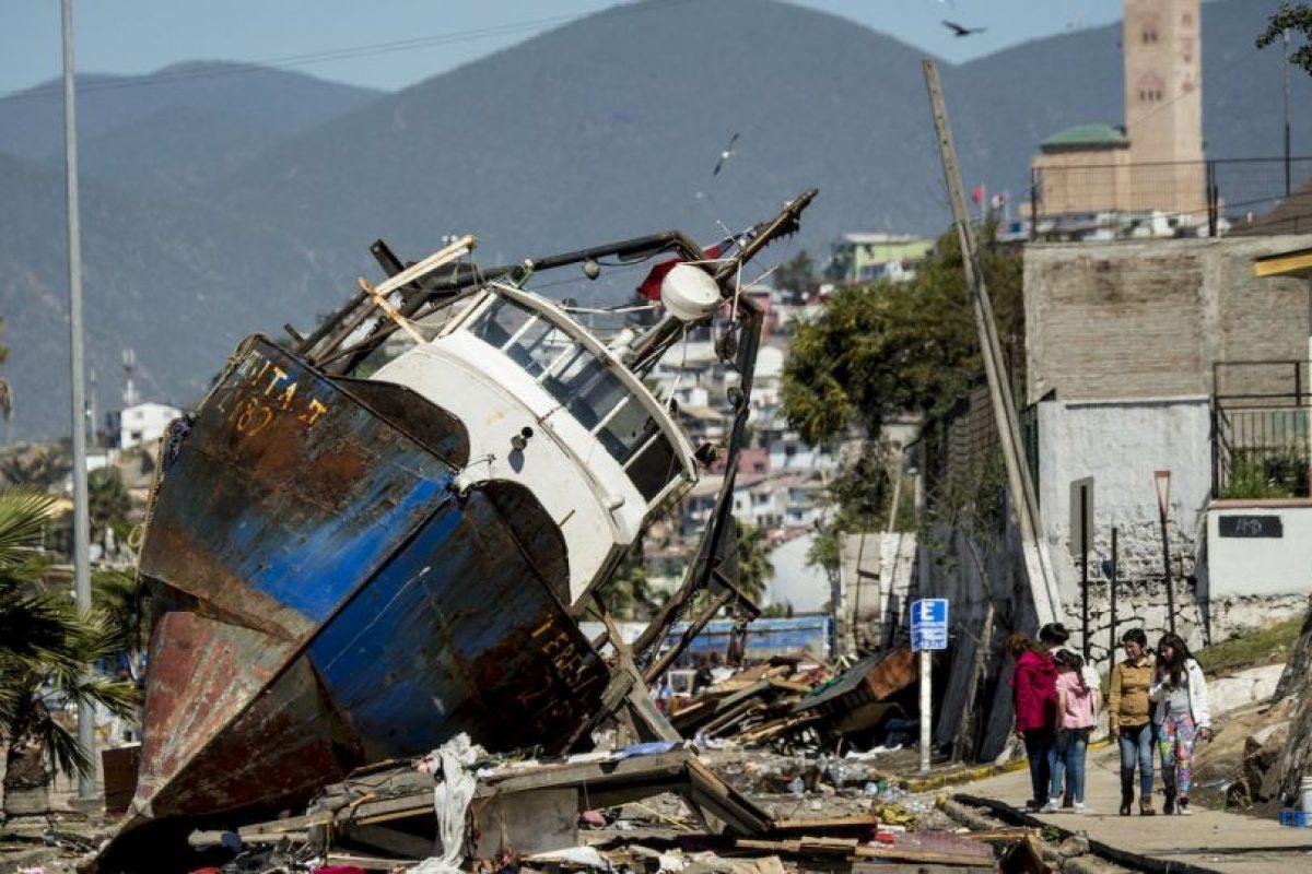 Chile enfrentó este martes un terremoto de magnitud 8.3. Foto:AFP. Imagen Por:
