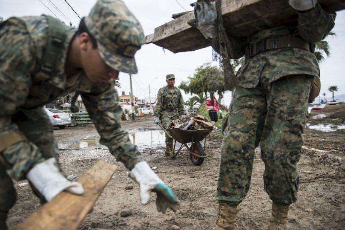 Este día se celebran las Fiestas Patrias en el país Foto:AFP. Imagen Por: