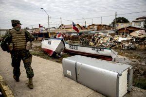 Se elevan a 13 las víctimas fatales por terremoto en el norte del país. Foto:AFP. Imagen Por: