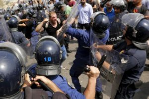 Continúan las protestas en Líbano por la crisis de la basura. Foto:AFP. Imagen Por: