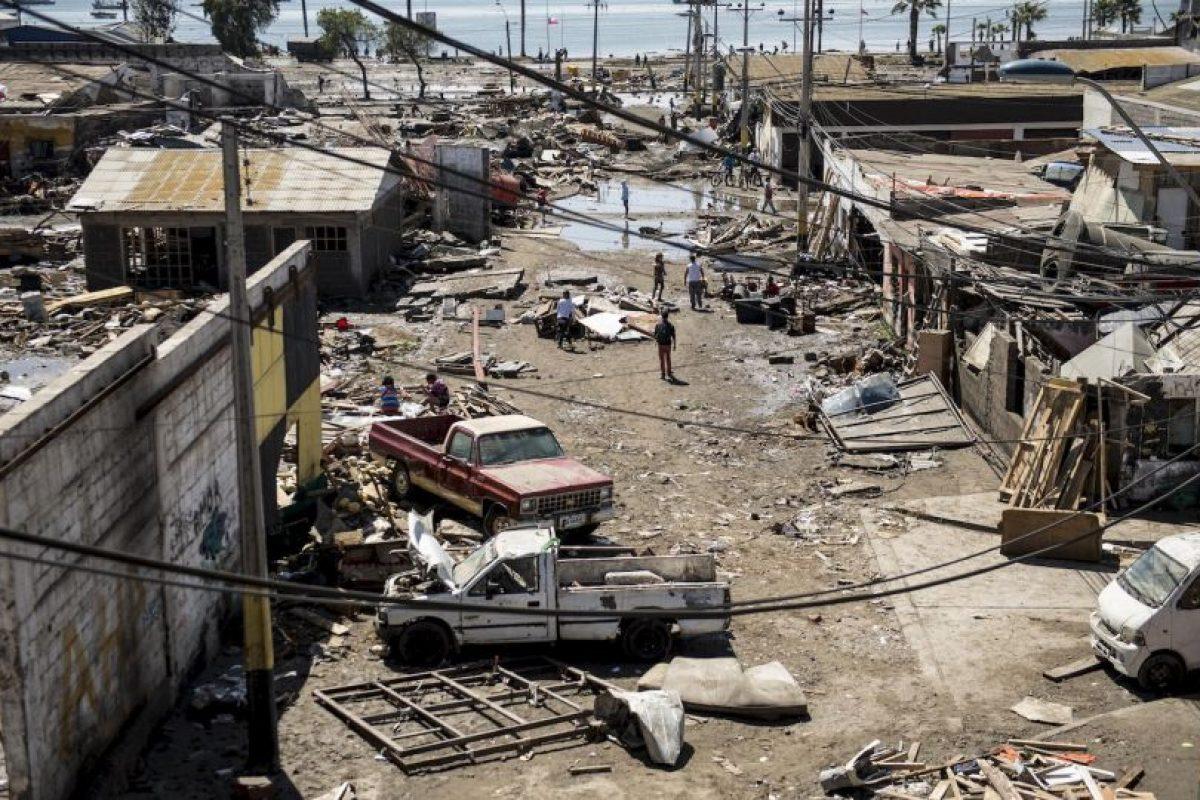 Se reportan 40 mil hogares sin suministro eléctrico Foto:AFP. Imagen Por: