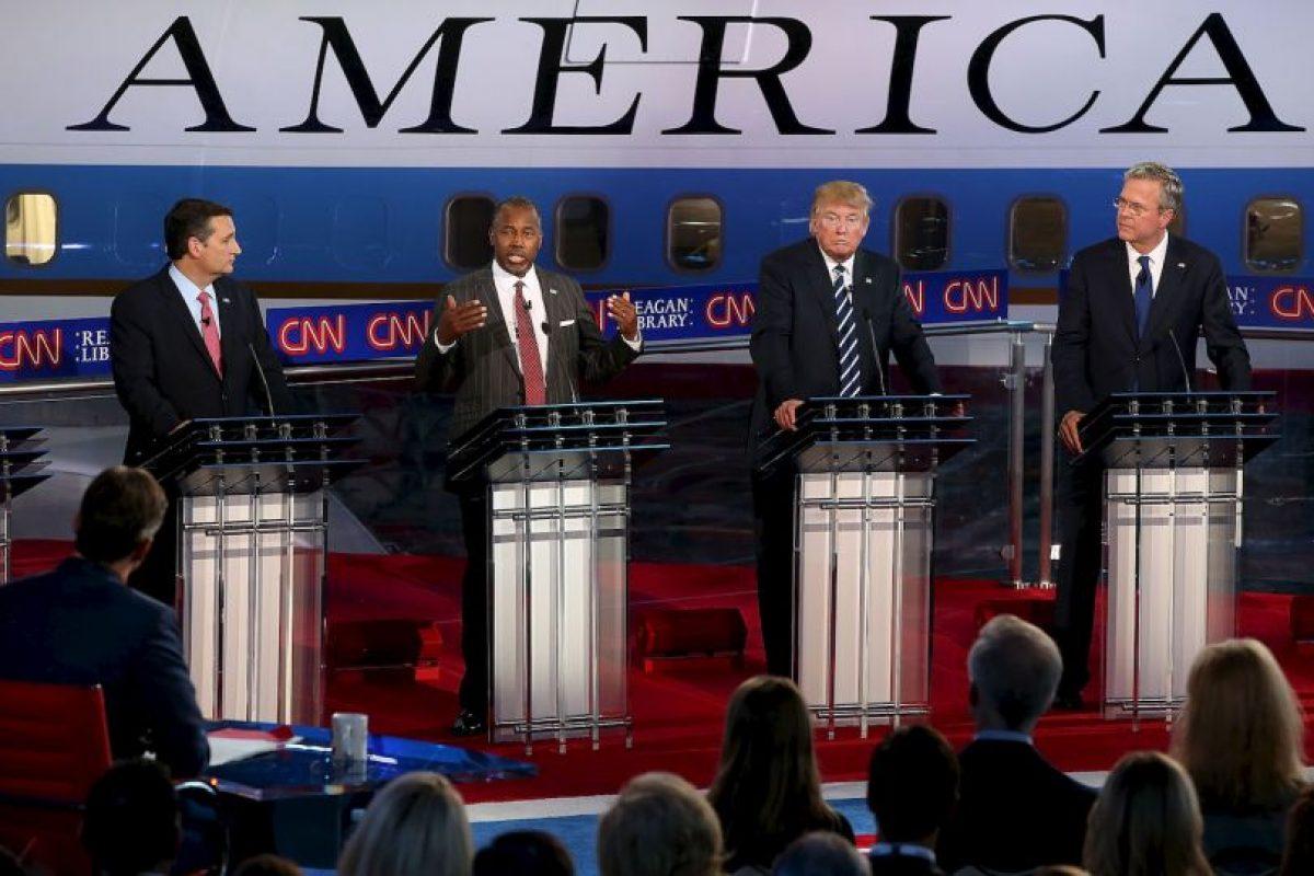 La mayoría de los candidatos republicanos se lanzaron contra el multimillonario Donald Trump. Foto:AFP. Imagen Por: