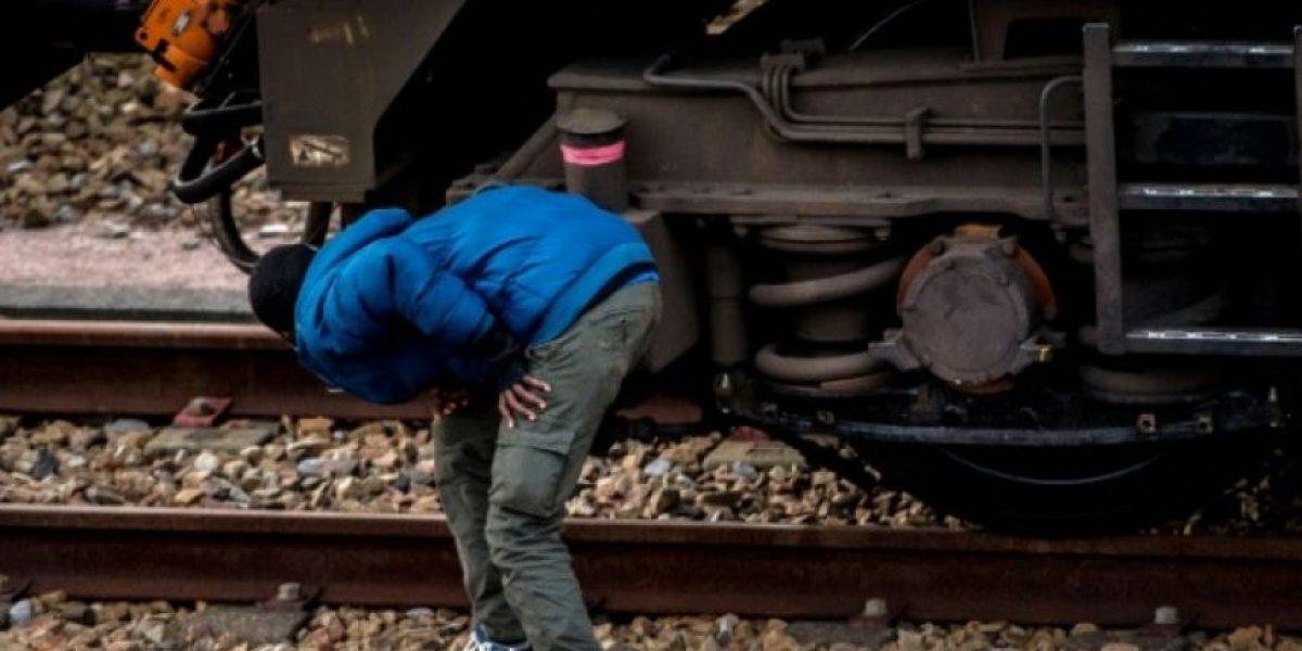 Muere un migrante electrocutado en el túnel de la Mancha