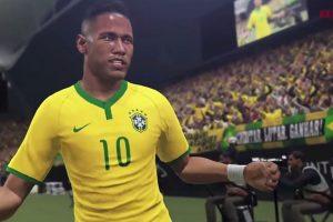 Neymar Jr. es la estrella del PES 2016. Foto:Konami. Imagen Por: