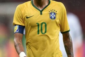 Neymar (Brasil) en la vida real. Foto:Getty Images. Imagen Por: