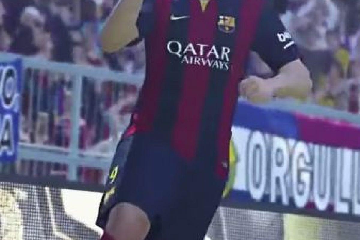 Luis Suárez en el PES 2016. Foto:Twitter. Imagen Por:
