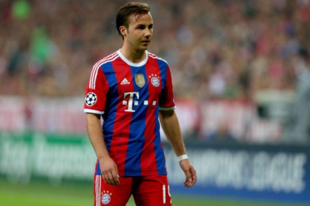 Mario Götze (Alemania) en la vida real. Foto:Getty Images. Imagen Por: