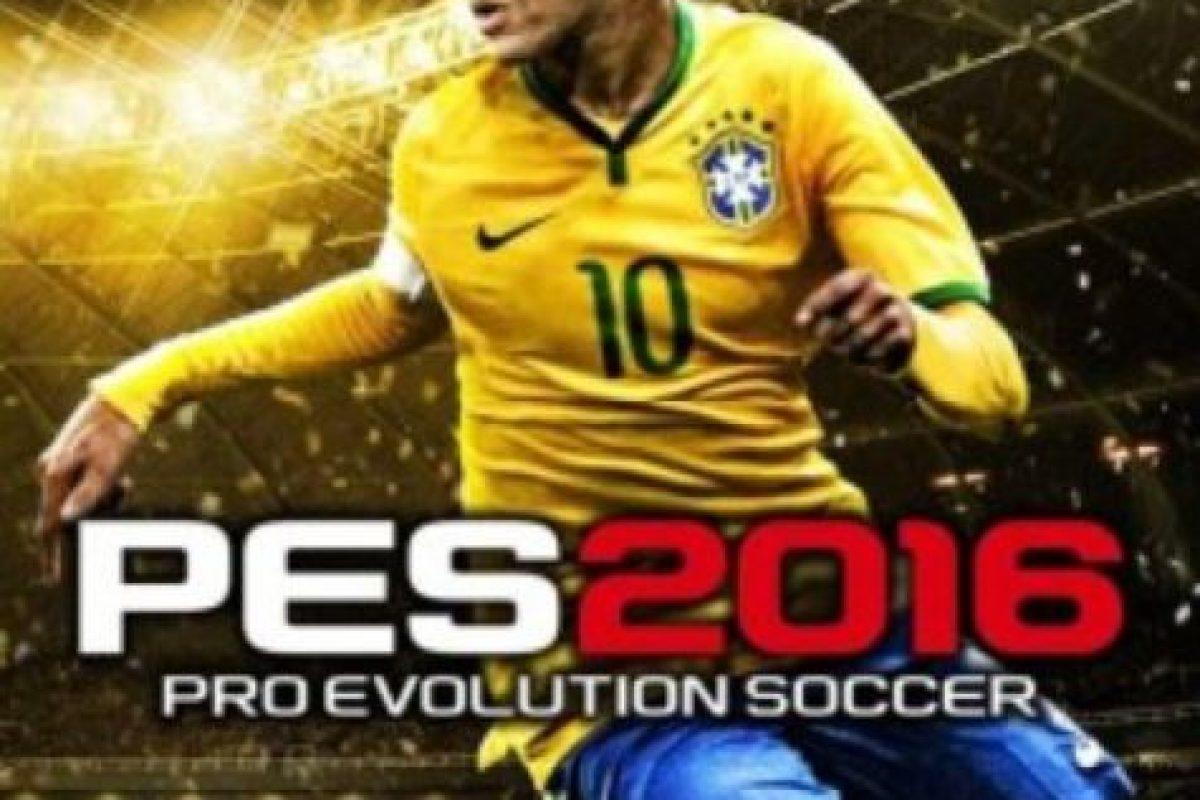 """Neymar es la portada del nuevo """"PES 2016"""". Foto:Konami. Imagen Por:"""