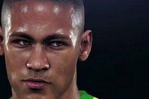 El rostro de Neymar. Foto:Konami. Imagen Por: