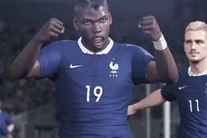El francés Paul Pogba. Foto:Konami. Imagen Por: